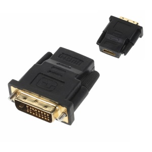DVI (24+1pin) Male to HDMI Female Video Adapter Converter