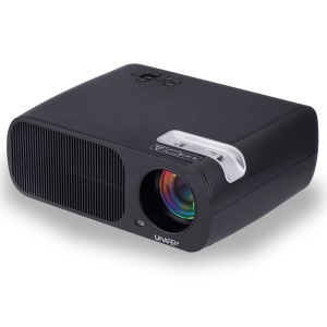 UHAPPY U20 2600LM 1080P Home Theater 800x480 Mini Projector with Remote Control - Black