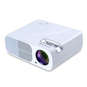 UHAPPY U20 2600LM 1080P Home Theater 800x480 Mini Projector with Remote Control - White