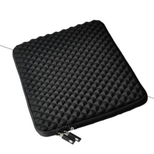 GEARMAX Diamond Neoprene Notebook Sleeve Case for Macbook Air 11 Inch - Black