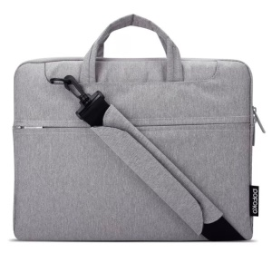 POFOKO Seattle Single Shoulder Laptop Bag Case para iPad Pro MacBook Air Pro 13.3 polegadas - cinza