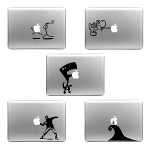 HAT PRINCE Creative Decoration Decal Sticker for MacBook Air / Pro - Random Pattern 5