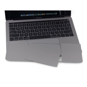 LENTION Palm Guard with Trackpad Skin Sticker for MacBook Pro 15-inch with Touch Bar