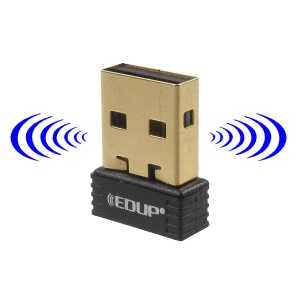 EDUP Nano Wireless N USB Adapter 150Mbps 802.11n Network LAN Card (EP-N8553)
