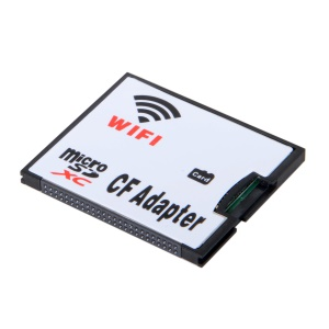 TF Micro SD to CF Flash Card WiFi Adapter for Digital Camera