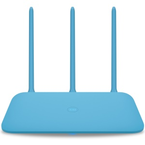 XIAOMI Mi WiFi Router 4Q 450Mbps 3 Antennas Blue Wireless 2.4G 802.11b/g/n APP Control WiFi Wireless Routers - US Plug