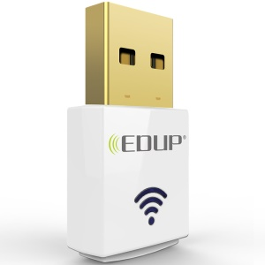 EDUP 600Mbps Mini Wireless Dual Band WiFi USB Adapter EP-AC1619