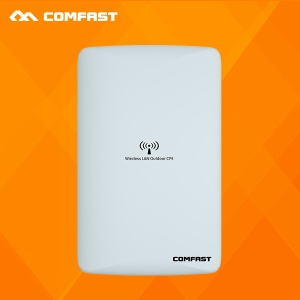 COMFAST CF-WA300 Omnidirectional WiFi Router Wireless Outdoor AP 300Mbps Bridge with Dual 16DBI Antenna - EU Plug