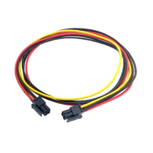 CY PW-071-0.6M ATX Molex Micro Fit Connector 4Pin Male to Male Power Cable