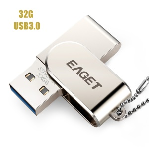 EAGET S30 USB 3.0 High Speed 32GB Memory Stick USB Flash Drive