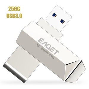 EAGET F70 USB 3.0 Pen Drive De Memória Flash Disco U - 256 GB