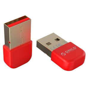 ORICO BTA-403 Tragbarer USB Bluetooth Adapter Dongle für Smartphone Tablet Lautsprecher Headset - Rot