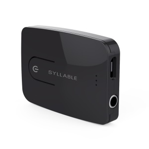 SYLLABLE E3  Wireless Bluetooth 4.0 Transmitter with 3.5mm Aux Audio Input (CE/RoHS/FCC/MSDS Certifications)
