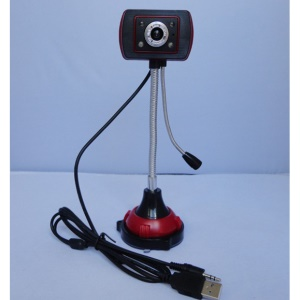 HD Computer Camera 360 Degree Rotation No Drive with Microphone Night Vision Digital Cam for Desktop Laptop PC