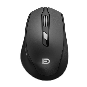 FORTER I365 2.4G 6 Buttons Wireless Gaming Mouse Adjustable 2400/1600/1000 DPI - Black