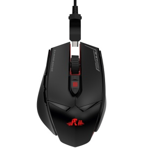 RII M01 Programmable Professional Wired Gaming Mouse with 12000 DPI & RGB