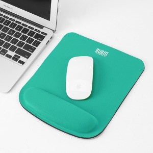 BUBM JSM Smooth Mouse Pad Mat with Gel Wrist - Green