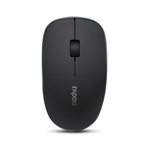RAPOO 3600 2.4G 3 Buttons Wireless Optical Mouse 1000 DPI - Black