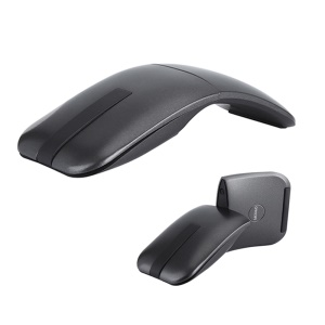 Ultra Slim 180 Degree Rotatable Hinge Touch Senstive 1200DPI 2.4G Wireless Mouse for Notebook, PC, Macbook