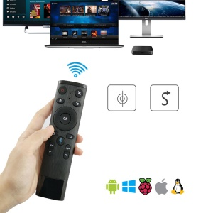Q5-M 6 Axis Air Mouse Remote Control with Voice Input for Android TV Box