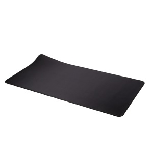 Black - Large Mouse Overlocking Mat Anti-slip Computer Gaming Mouse Pad