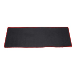 Red - Mouse Overlocking Mat Anti-slip Computer Gaming Large Mouse Pad Mat, Size: 300 x 800 x 2mm