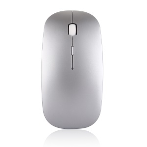 2.4G Wireless Mouse Bluetooth 4.0 Mice Utral Thin Dual Mode Laptop Mouse - Silver