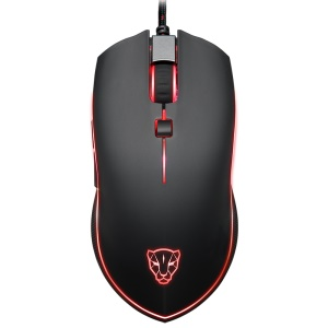 MOTOSPEED V40 4000 DPI 6 Buttons Wired USB Gaming Mouse with LED Backlit
