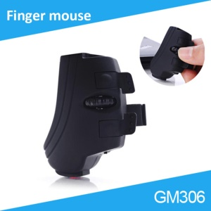 GM306 Mini 2.4G 1000DPI Wireless Finger USB Mouse for Laptop/Notebook/Desktop