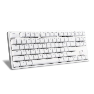 XIAOMI Yuemi Mechanical Keyboard 87 Keys Red Switches Aluminum Alloy Wired Keyboard - White