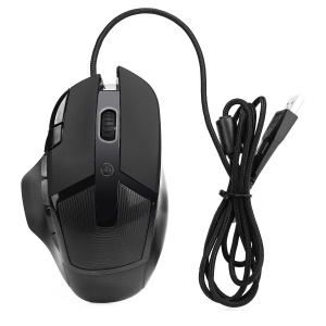 K1018 8-Key Wired Optical Professional Gaming Mouse with Colorful Light