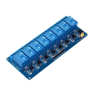 SRD08 8 Channel 5V DC Relay Module Expansion Board for Arduino Raspberry Pi DSP AVR PIC ARM