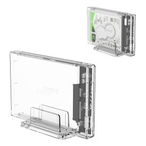 ORICO 2159U3 2.5 inch Transparent USB3.0 Hard Drive Enclosure with Stand 2.5inch HDD / SSD