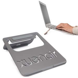 XUENAIR Aluminum Alloy Laptop Cooling Stand for MacBook - Grey