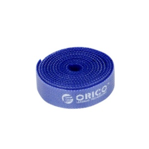 ORICO CBT-1S Reusable Dividable Hook & Loop Velcro Cable Cord Tie 1m/3.3ft - Blue