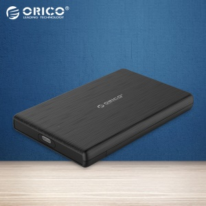 ORICO 2189C3 2.5 Inch USB3.0 Type-A to Type-C External Hard Drive Disk Enclosure High-Speed Case for SSD Support UASP SATA III