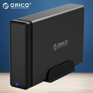 ORICO NS100C3-BK Type-C Aluminum Hard Drive HDD Dock Enclosure USB3.1 to SATA3.0 3.5 in HDD Case - AU Plug