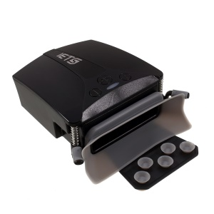 IETS GT100 Cooler Exhaust Intelligent Fan USB Air Extracting Turbo Radiator for Laptop - Black