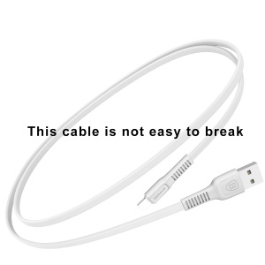BASEUS Tough Series 2A Data Sync Charging Micro USB Cable for Samsung S7, etc. (1m) - White