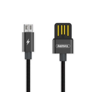 REMAX Micro USB Port Data Sync Charging Cable - Grey