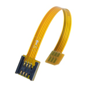 3G 4G Micro SIM Card Kit Male to Standard UIM SIM Female Extension Soft Flat FPC Cable Extender