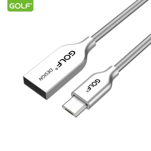 GOLF GC-36m Micro USB Data Sync Charger Cable Cord for Samsung Huawei HTC