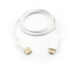 1.8M 1080P Displayport DP to HDMI Cable