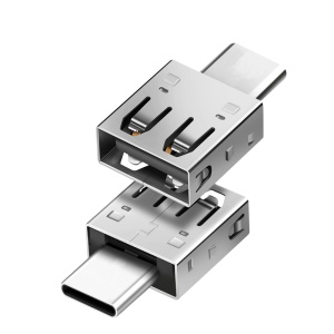 Type-C to USB Data OTG Adapter Converter for Samsung Note 8/New MacBook Etc.