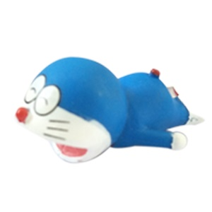 Lovely Cartoon Animal Cable Bite USB Charging Cable Protector for iPhone - Doraemon