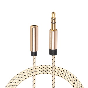 3.5mm Jackets Male to Female Audio Headphone Extender Cable for Computer Earphone(5M)