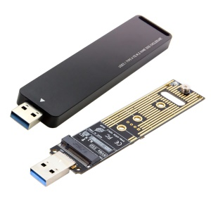 USB 3.0 to Nvme M-Key M.2 NGFF SSD External PCBA Conveter Adapter Card Flash Disk Type