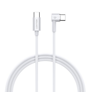 LENTION 2m Type-C to Type-C 86W Angled Magnetic Charging Cable