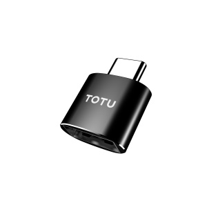 TOTU CRG0301 USB Female to Type-C Male Cable Adapter Converter