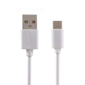 PINZUN 2M Type-C USB Data Sync Charging Cable for Samsung HTC LG Huawei - White